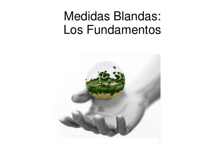 Medidas Blandas:Los Fundamentos