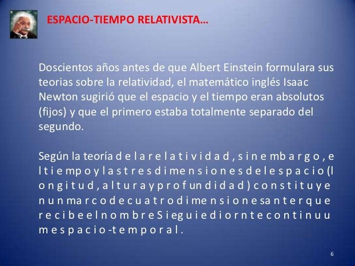 teoria de la relatividad especial y general
