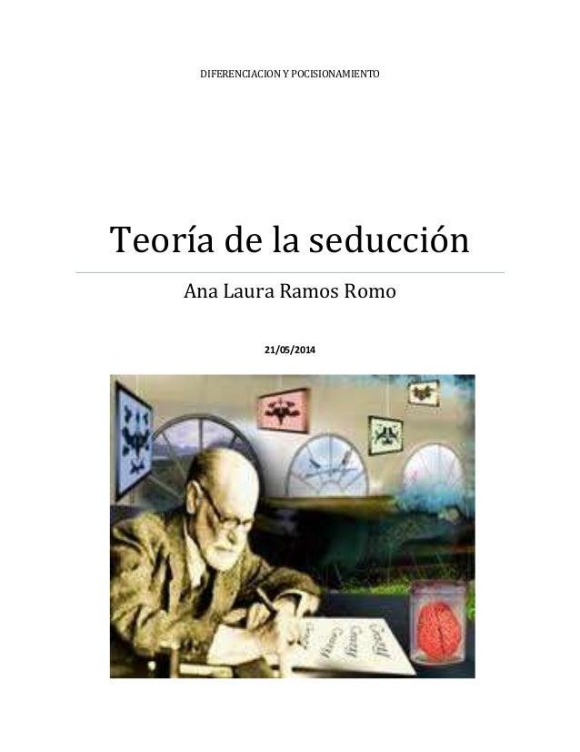DIFERENCIACION Y POCISIONAMIENTO Teoría de la seducción Ana Laura Ramos Romo 21/05/2014