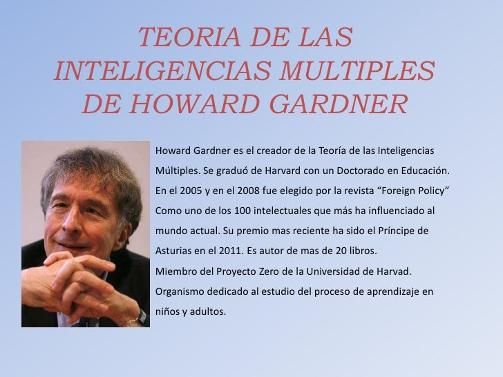 Teoria de howard gardner yahoo dating. transformers prime temporada 2 capitulo 24 latino dating.