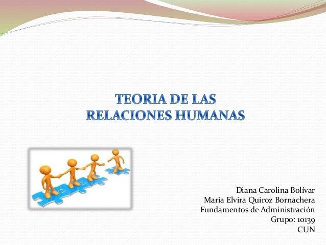 Diana Carolina Bolívar Maria Elvira Quiroz Bornachera Fundamentos de Administración Grupo: 10139 CUN