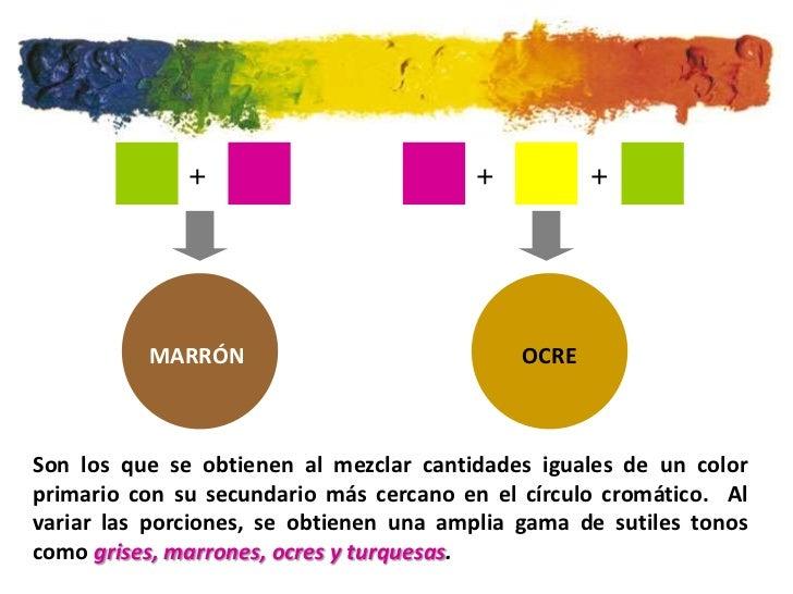 Teoria del color - Como hacer colores ...