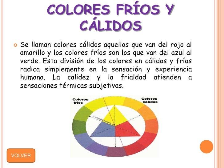 Teoria del color neivis - Cuales son los colores calidos y frios ...