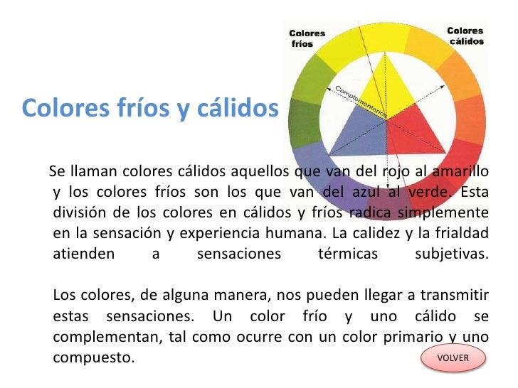 Teoria del color paola clase 03 - Cuales son los colores calidos y frios ...