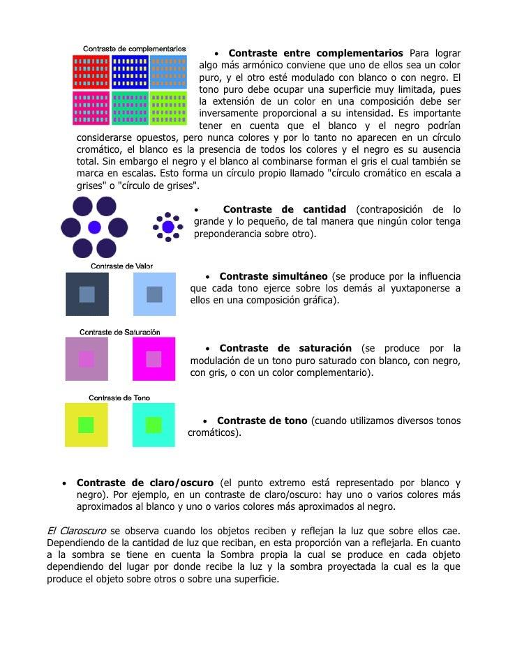 Teoria del color y el claroscuro - Mas y mas curriculum ...