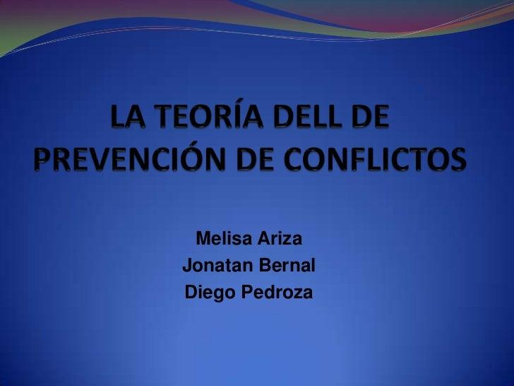 Melisa ArizaJonatan BernalDiego Pedroza