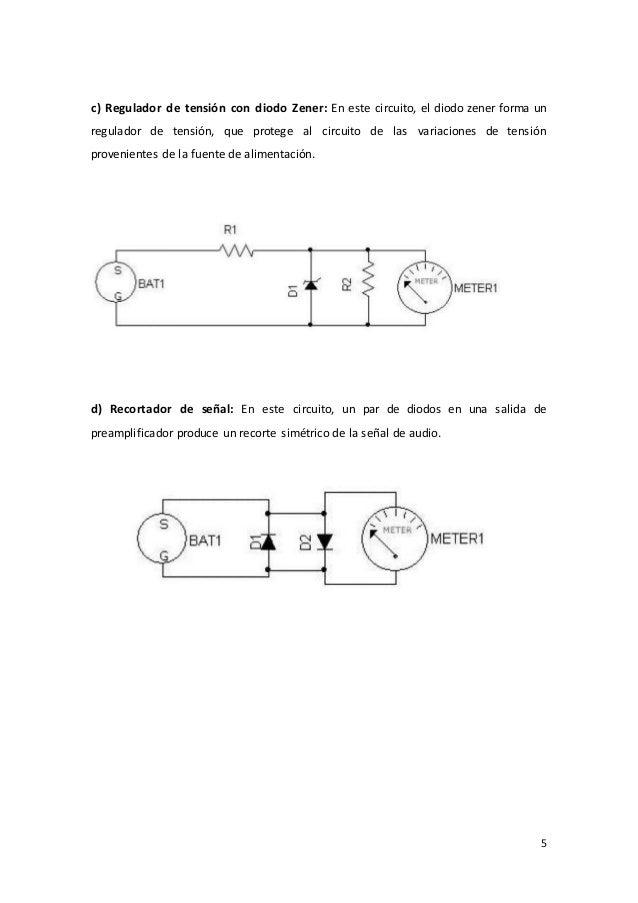 Circuito Recortador : Teoria de los diodos