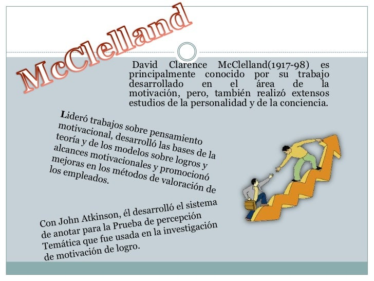 Teoria De Mc Clelland