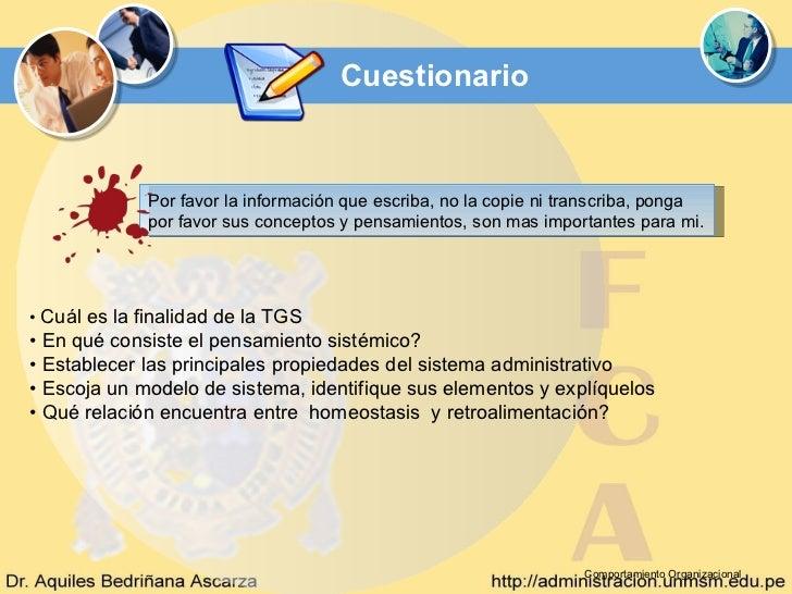 Cuestionario             Por favor la información que escriba, no la copie ni transcriba, ponga             por favor sus ...