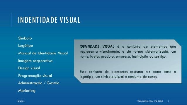 INDENTIDADE VISUALSímboloLogótipoManual de Identidade VisualImagem corporativaDesign visualProgramação visualAdministração...