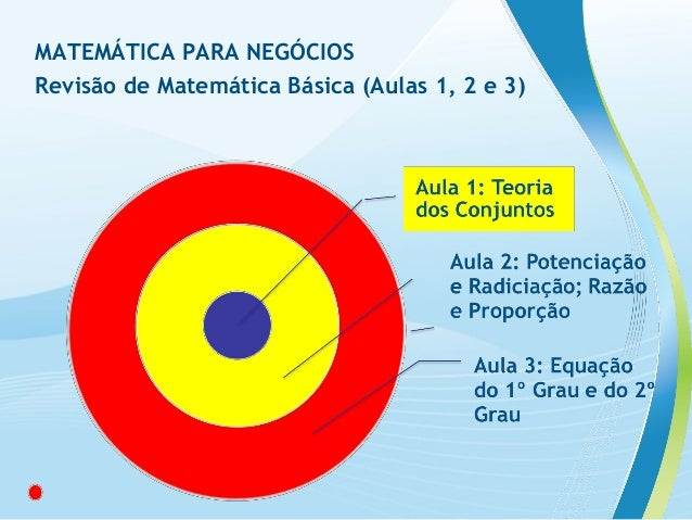 Revisao matematica basica