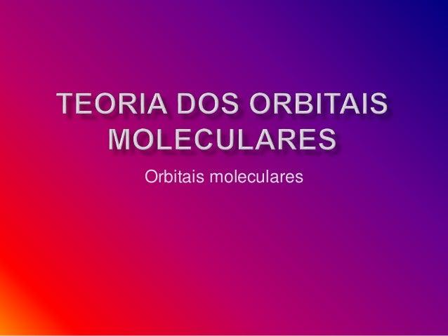 Orbitais moleculares