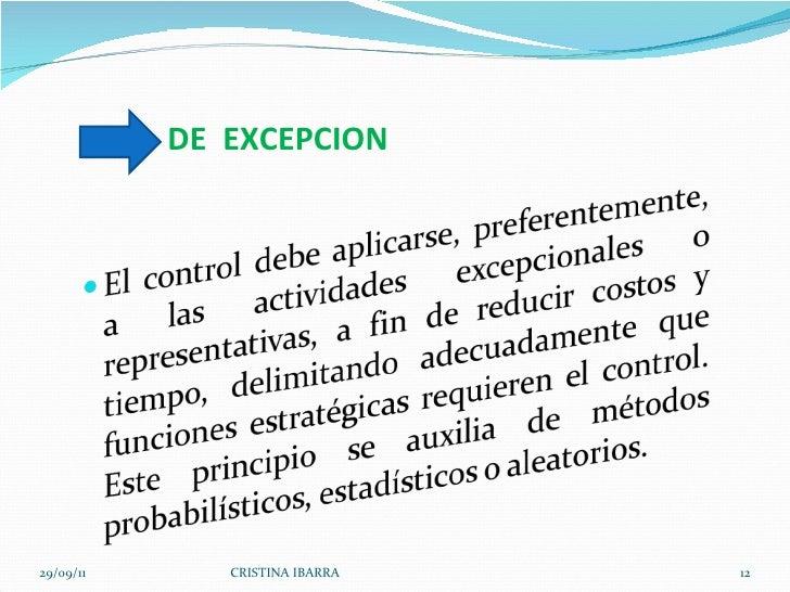 DE  EXCEPCION 29/09/11 CRISTINA IBARRA