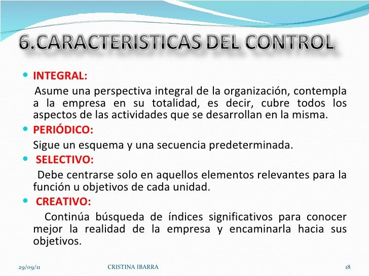 <ul><li>INTEGRAL: </li></ul><ul><li>Asume una perspectiva integral de la organización, contempla a la empresa en su totali...