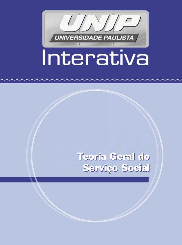 Teoria Geral do Serviço Social