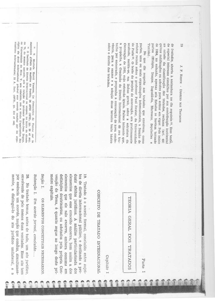 Teoria geral dos tratados pg 20 61