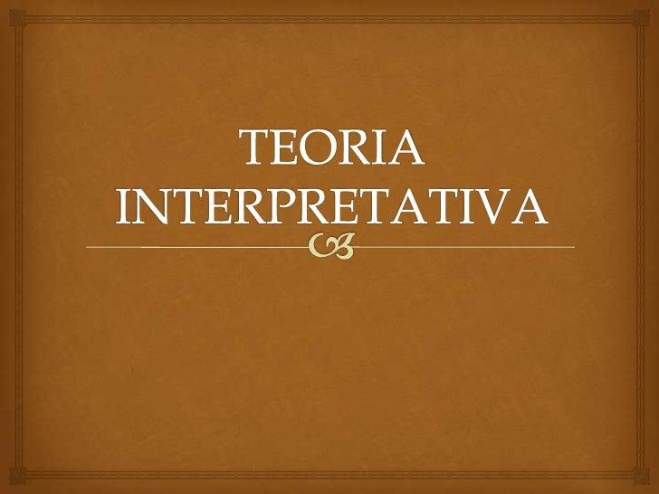 Definición                         Esta teoría coincide con la teoría directa en respetar el principio  de correspondenc...