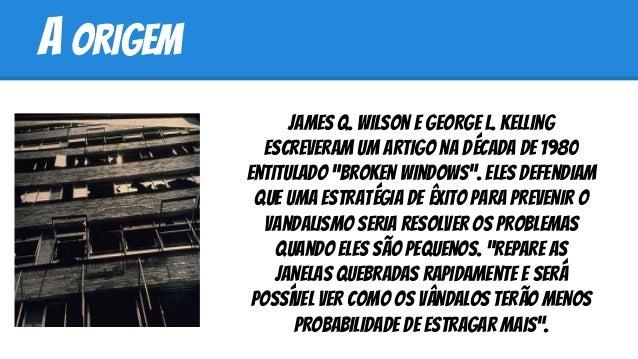 Teoria das janelas quebradas - Pragmatic Programmer