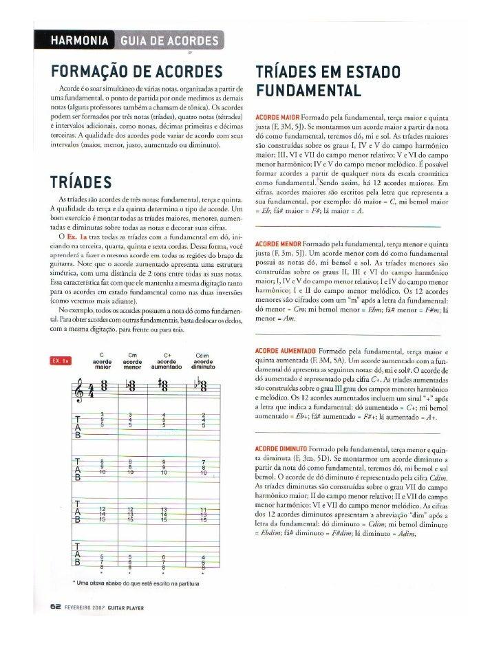 Teoria musical guia de acordes   harmonia