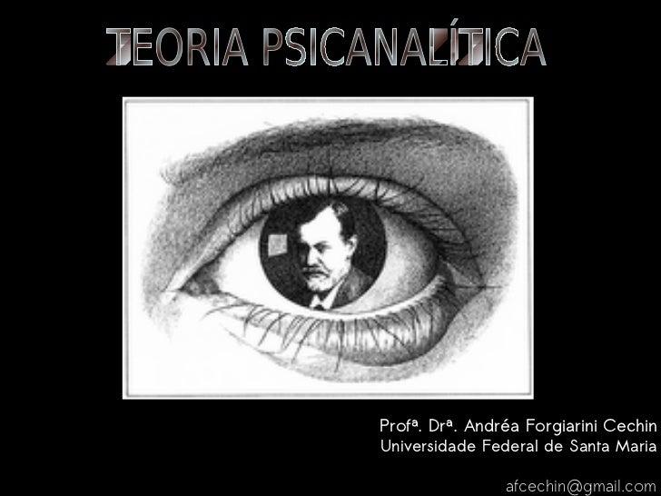 Profª. Drª. Andréa Forgiarini Cechin        Universidade Federal de Santa Maria                           afcechin@gmail...