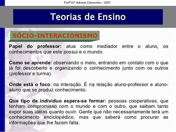 be7386b9470 Profª Drª Adriana Clementino - 2007  13.