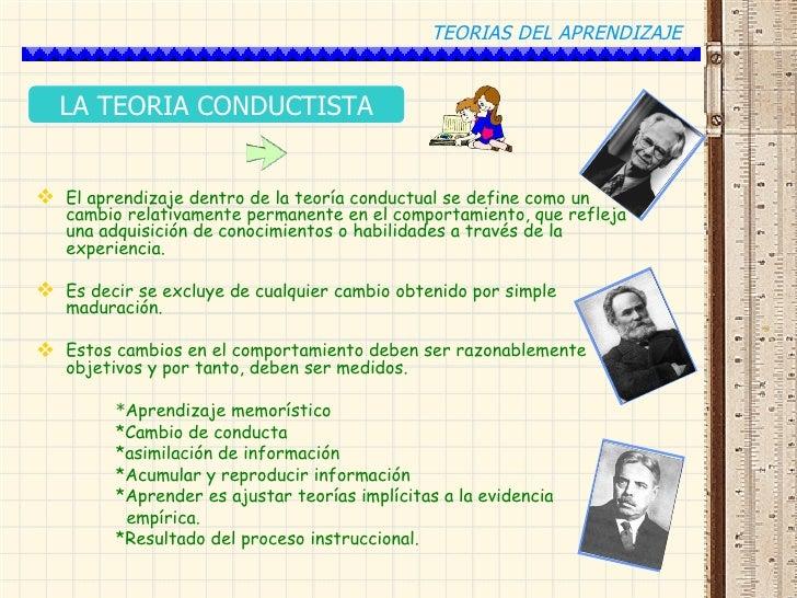 TEORIAS DEL APRENDIZAJE CON EJEMPLOS :D Slide 2