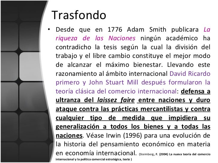Teorias comercio internacional Slide 3