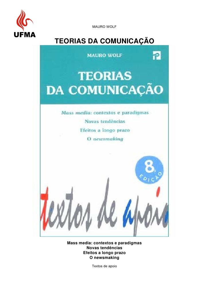 Teorias da comunicacao