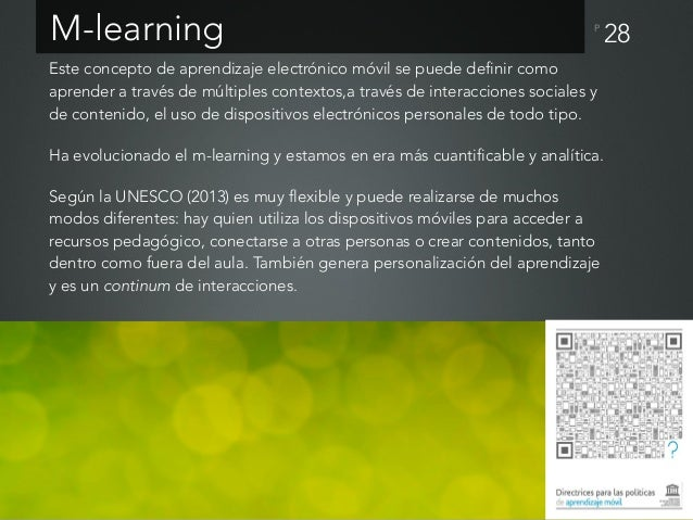 P 29Principios del aprendizaje móvil