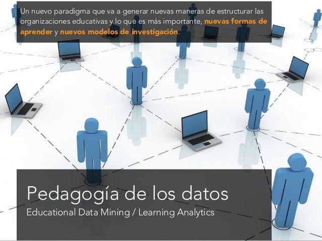 P 54 El análisis del aprendizaje se trata de la medición, recopilación, análisis y presentación de datos sobre los alumnos...