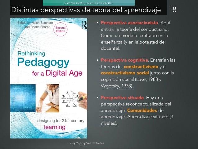P 9 Asociativo Constructivo (individual) Constructivo (social) Situado Transformativo El aprendizaje se entiende Una const...