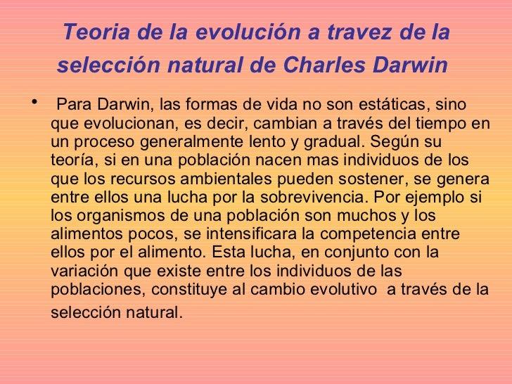 teor 237 as de la evoluci 243 n de lamarck charles darwin