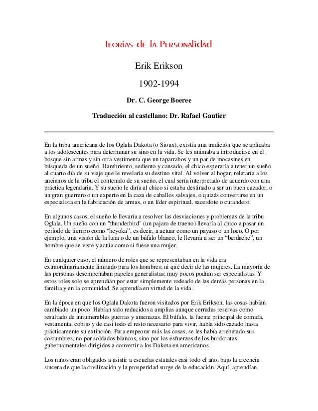 Erik Erikson                                       1902-1994                                  Dr. C. George Boeree        ...
