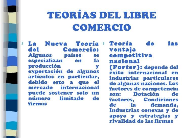 Teorias del comercio internacional for Comercio exterior que es