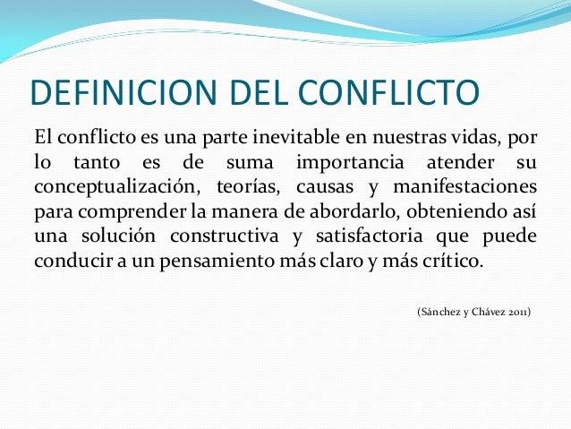Teorias del conflicto for Definicion de gastronomia pdf