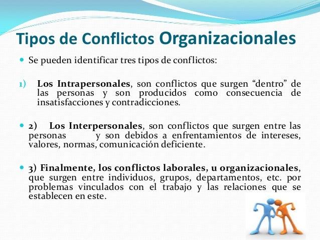 tipos de conflictos pdf
