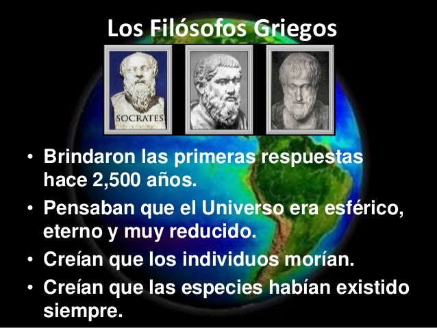 Resultado de imagen para Origen del Universo segun los filosofos