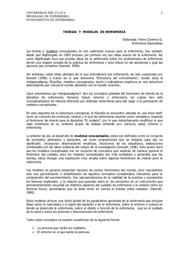 UNIVERSIDAD DEL CUACA                                                                            1PROGRAMA DE ENFERMERIAFU...