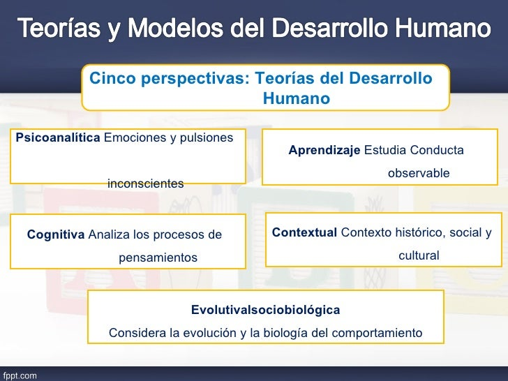 Teorias y modelos del desarrollo humano Slide 2