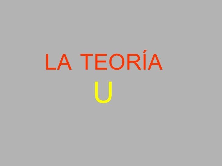 LA TEORÍA U