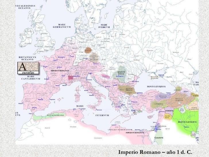 Imperio Romano – año 1 d. C.