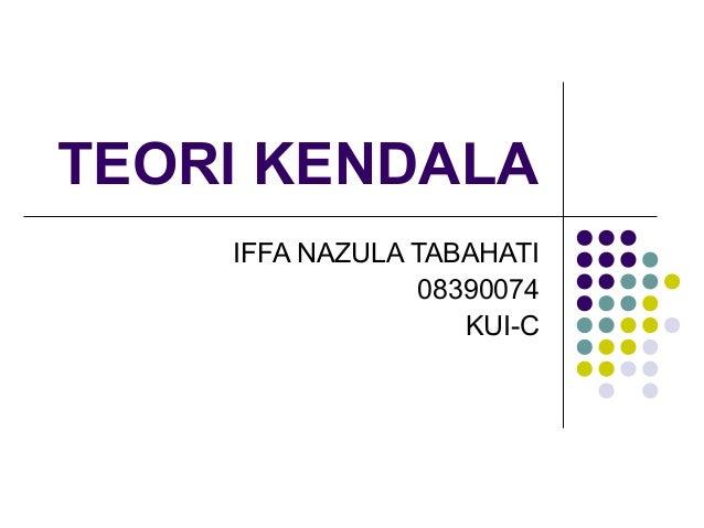 teori kendala Scribd est le plus grand site social de lecture et publication au monde.
