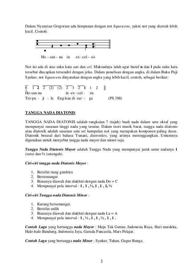 Teori Musik Penunjang Geraeja