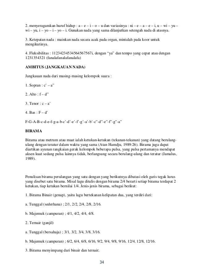 Image Result For Teori Musik Paduan Suara