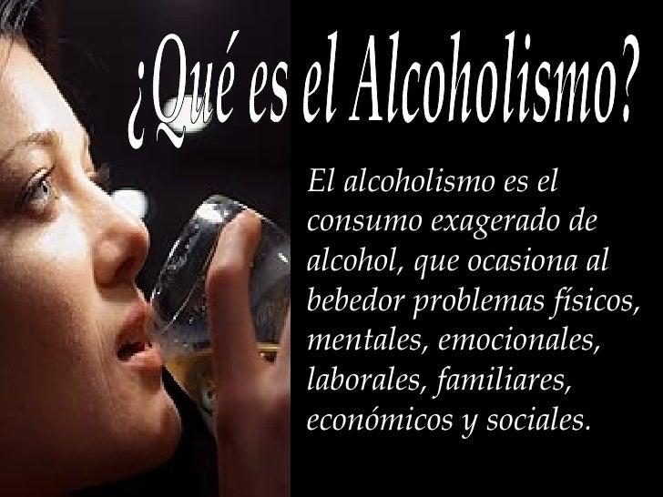 Básicos del indicio del alcoholismo