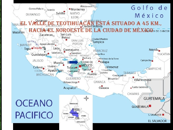 Teotihuacan for Marmol donde se encuentra