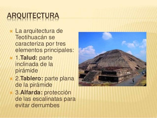 Teotihuac n for 5 tecnicas de la arquitectura