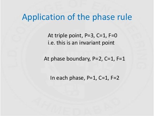 Phase Rule  U0026 Phase Diagram