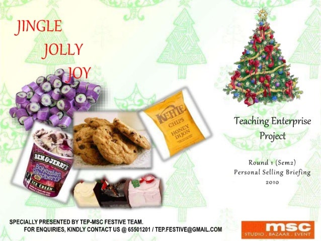 Tep 1st round personal selling (jolly jingle joy)