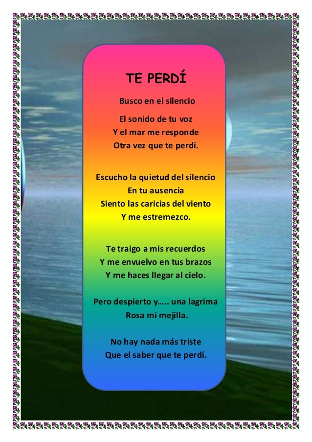 Poemas Para Ninos De Espanol Newhairstylesformen2014 Com